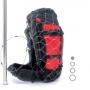 8折 PacSafe 防盜不鏽鋼網  55L Anti-theft backpack & bag protector
