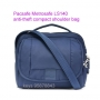 Pacsafe Metrosafe LS140 anti-theft compact shoulder bag - deep n