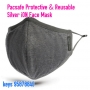 * new Pacsafe Protective & Reusable Silver iON Face Mask - L