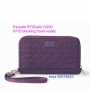 Pacsafe RFIDsafe W200 防盜長銀包RFID blocking travel wallet - MULBERR