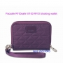 Pacsafe RFIDsafe W100  防盜銀包RFID blocking wallet - MULBERRY