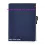 Pacsafe RFIDsafe TEC slider wallet - NAVY / RED