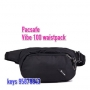 Pacsafe Vibe 100 anti-theft hip and crossbody pack 防盜腰包 -格仔黑