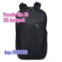 *8折 Pacsafe Vibe 20 防盜背囊20L backpack 格仔黑