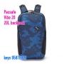 Pacsafe Vibe 20 防盜背囊20L backpack 迷彩藍