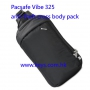 Pacsafe Vibe 325 Anti-Theft Cross Body Pack - black