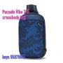 Pacsafe Vibe 325 心口包 Cross Body Pack - 迷彩藍色