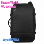 Pacsafe Vibe 40 anti-theft 40L carry-on backpack - 格仔黑