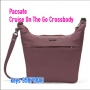 *8折 Pacsafe Cruise Anti-Theft On The Go 2L Crossbody 紅色