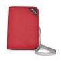 *8折 Pacsafe RFIDsafe V150 RFID blocking compact organizer 紅色