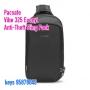 *  85折 Pacsafe Vibe 325 Anti-Theft Sling Pack - Econyl black