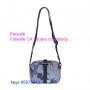 Pacsafe Citysafe CX square crossbody - BLUE ORCHID-