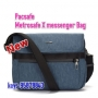 *new Pacsafe Metrosafe X-Messenger bag 斜肩包 - 藍色
