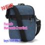 *new Pacsafe Metrosafe X-vertical bag 中斜肩包 - 藍色